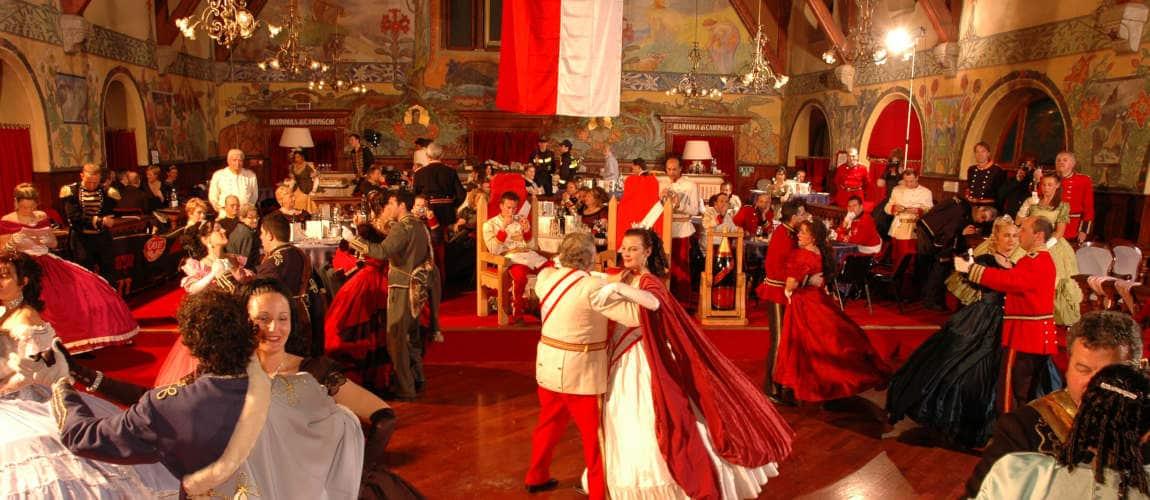 Ballo in costume d'epoca - Carnevale Asburgico Madonna di Campiglio