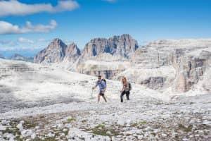 Residence Hotels trekking escursione al Sass Pordoi