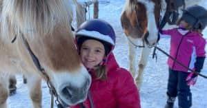 lezione equitazione dolomiti bambini