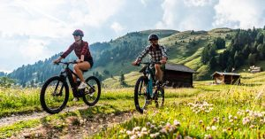 Fat bike trips in the Dolomites
