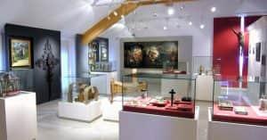 sala museo ladino @copyright Arch. fotografico Istituto Culturale Ladino, San Giovanni di Fassa