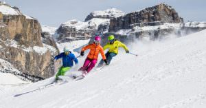 Skiing in Val di Fassa: a different ski area every day
