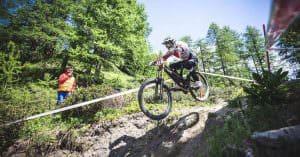Downhill track