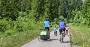 Val di Fassa cycle lane and other family-friendly routes