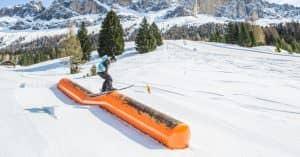 Entdecken Sie die Snowparks im Fassatal