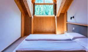 camera da letto appartamento per 5-6 persone Ambiez Residence