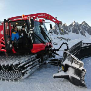 Pistenbully tour in San Martino di Castrozza