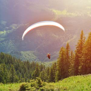 Paragliding adventure voucher