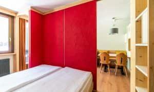 camera appartamento per 3 persone Ambiez Residence Hotels