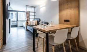 salotto appartamento superior 5 Ambiez di Residence Hotels