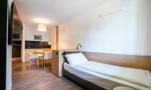 letto Appartamento superiror 4 Ambiez Residence Hotels
