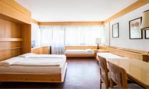 monolocale piano giardino residence Ambiez di Residence Hotels
