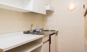 cucine monolocale piano giardino residence Ambiez di Residence Hotels