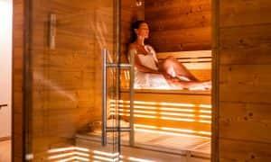 sauna spa hotel Antares