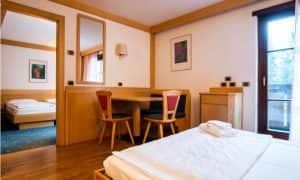 Junior suit Garni Aritz di Residence Hotels