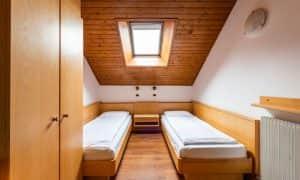 letti singoli Appartamento su due livelli per 5 persone