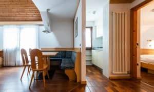 Appartamento su due livelli per 5 persone