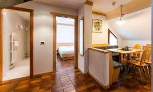 Appartamento su due livelli per 6 persone
