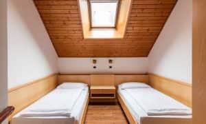 letti singoli Appartamento su due livelli per 6 persone