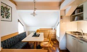 Cucina Appartamento su due livelli per 6 persone