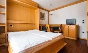 Appartameno con una camera per 4 persone