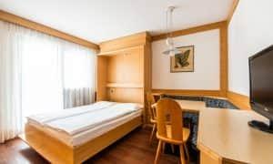 camera con letto aperto Appartametno con cameretta singola