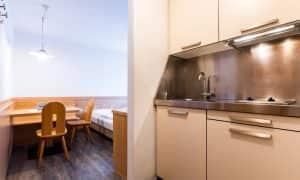 cucina Appartametno con cameretta singola