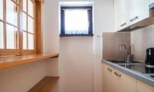 cucina Appartamento con balcone 4 persone