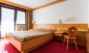 camera da letto Appartamento con una camera da letto, balcone e 2 bagni