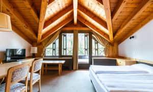 Appartamento con due camere da letto in mansarda