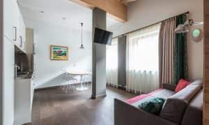 Apartment Superior mit zwei Schlafzimmern und zwei Bädern (6 Personen)