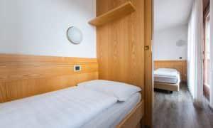 Appartamento con camera per 3 persone