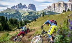 downhill val di fassa sfide estreme per la tua mountain bike biammortizzata