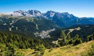 Panorama Dolomiti di Brenta Madonna di Campiglio Val Rendena