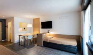 1-Zimmer-Apartment Superior mit Balkon für 3